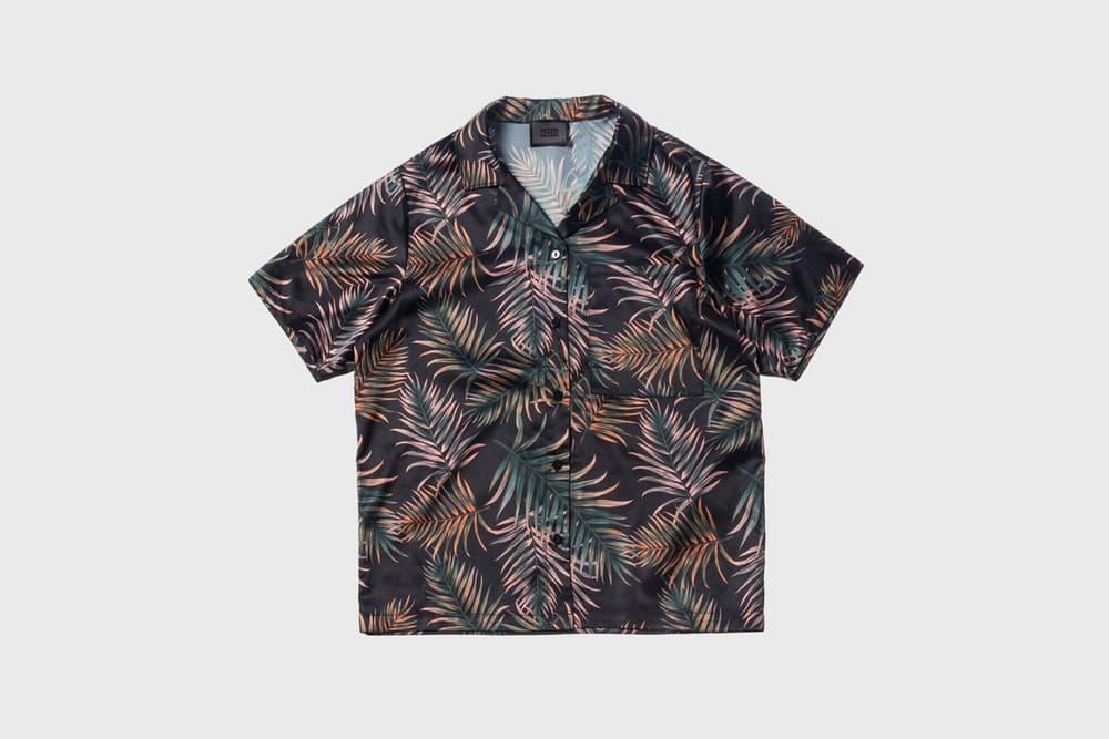KITH Women Summer 2018 Collection Carla Shirt Leaf Print
