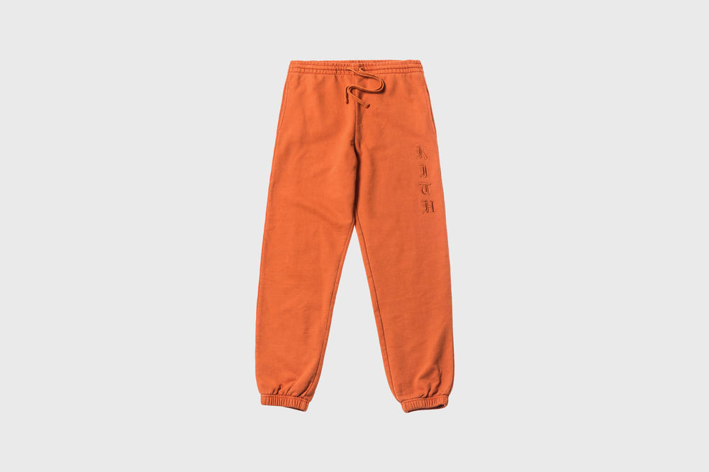 KITH Women Summer 2018 Collection Terryka Sweatpant Burnt Orange