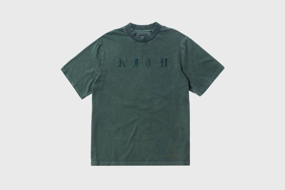 KITH Women Summer 2018 Collection Mei Mock Neck T-shirt Amazon