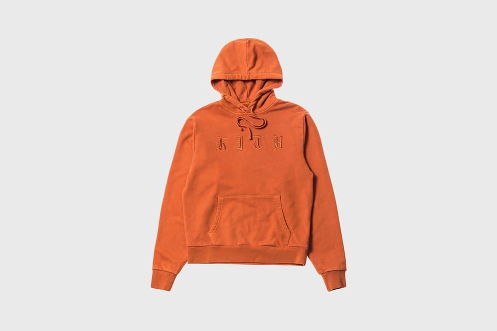 KITH Women Summer 2018 Collection Serena Hoodie Burnt Orange