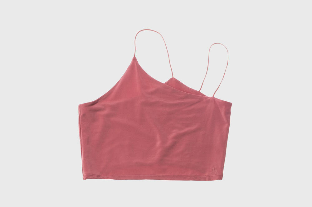 KITH Women Summer 2018 Collection Veronica Tank Dusty Rose