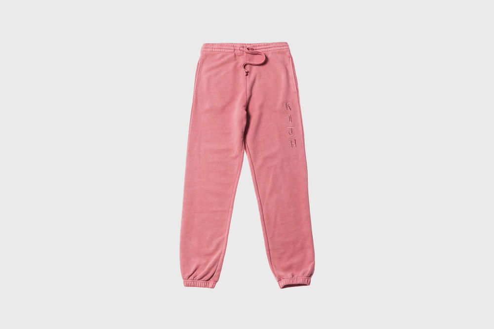 KITH Women Summer 2018 Collection Terryka Sweatpant Dusty Rose