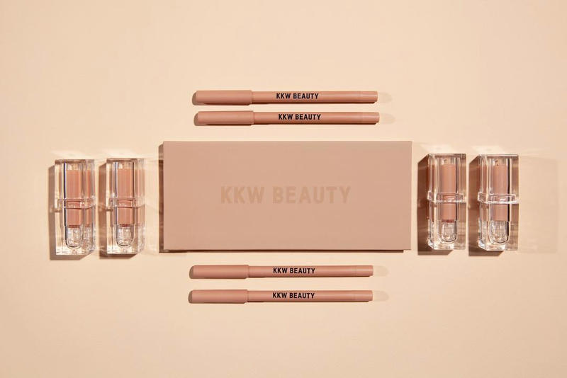 kkw beauty kim kardashian makeup classic collection eyeshadow palette lipsticks lip liners popup