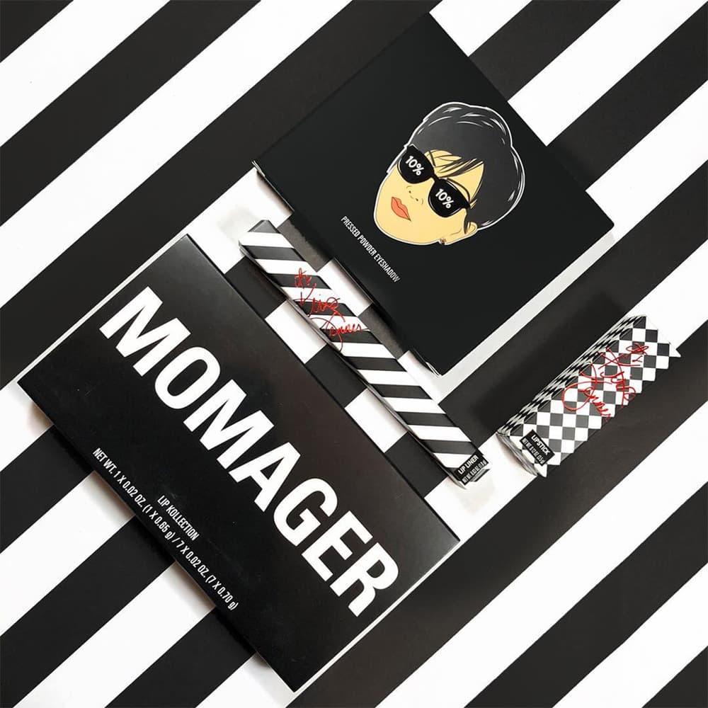 kylie cosmetics kris jenner momager makeup collection restock eyeshadow palette lip duo lipsticks matte velvet