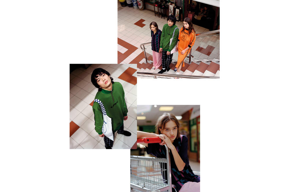 Lazy Oaf Food Baby Fall/Winter 2018 Lookbook Thanks For Nothing Dress Orange