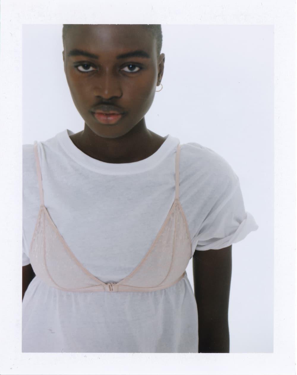les girls les boys campaign beauty standards Fabien Montique polaroids lingerie unisex