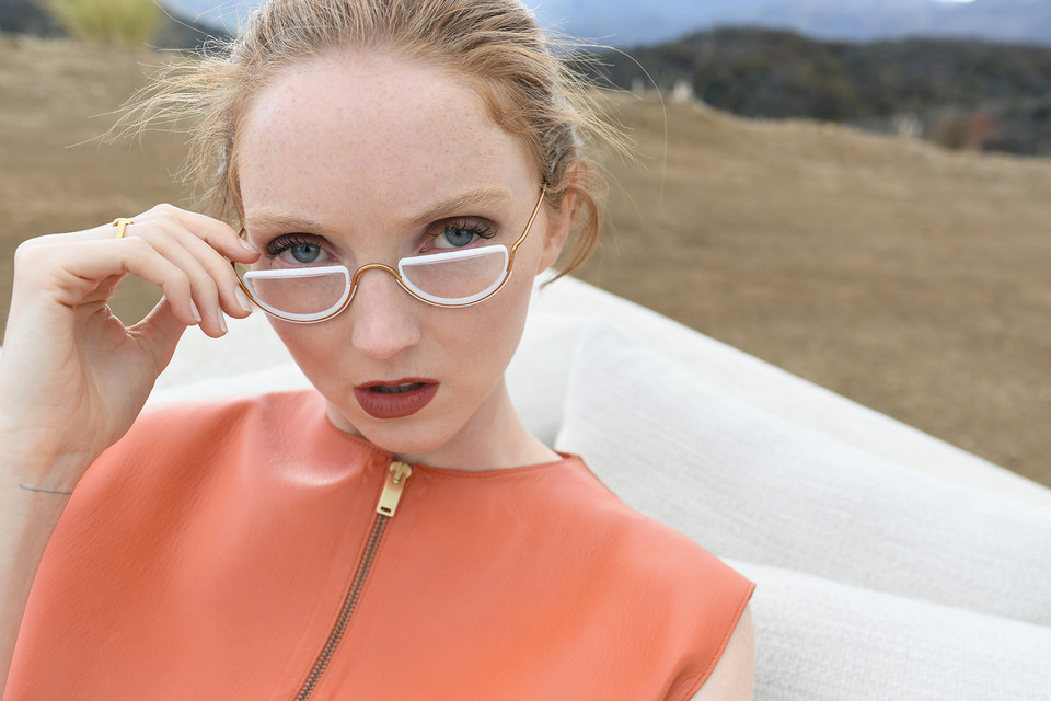 0a374d19bc4a Lily Cole Launches Sustainable Eyewear Brand Wires