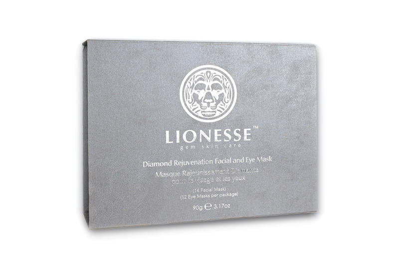 Lionesse $2,000 USD Diamond Face Mask Treatment Expensive Skincare