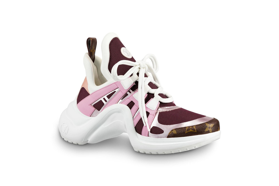 1fd70c771e1 Louis Vuitton Archlight Sneakers in Pink & Gold | HYPEBAE