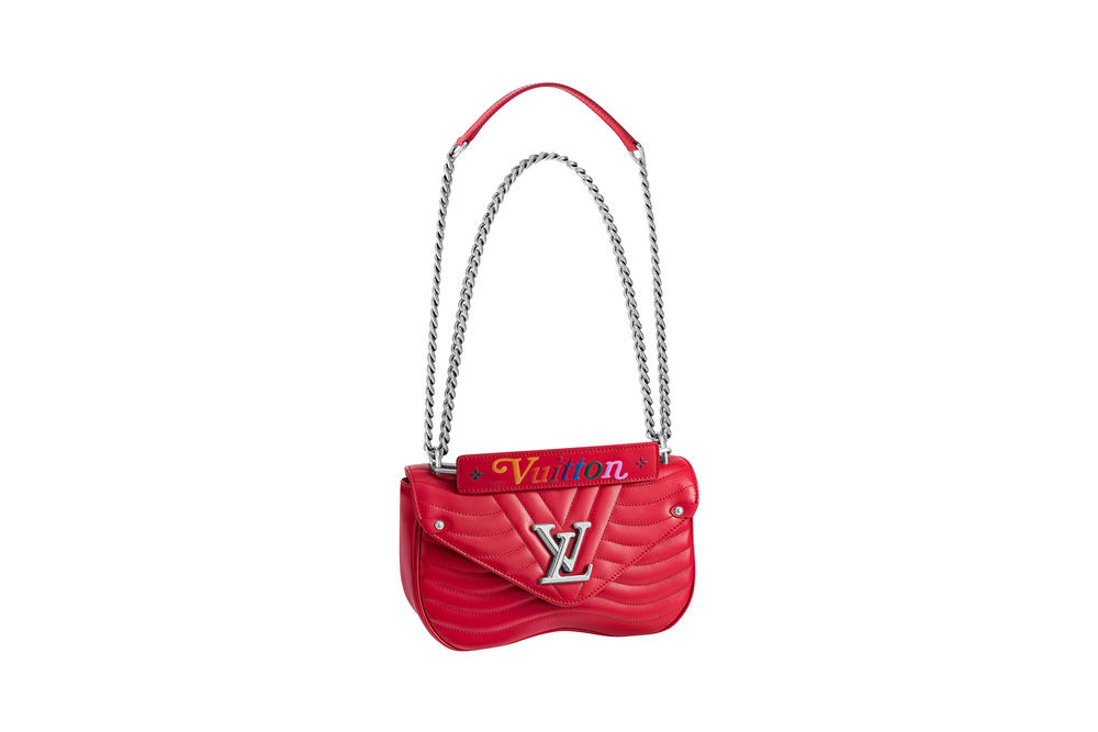 Louis Vuitton New Wave Chain Bag Ecarlate Red Collection