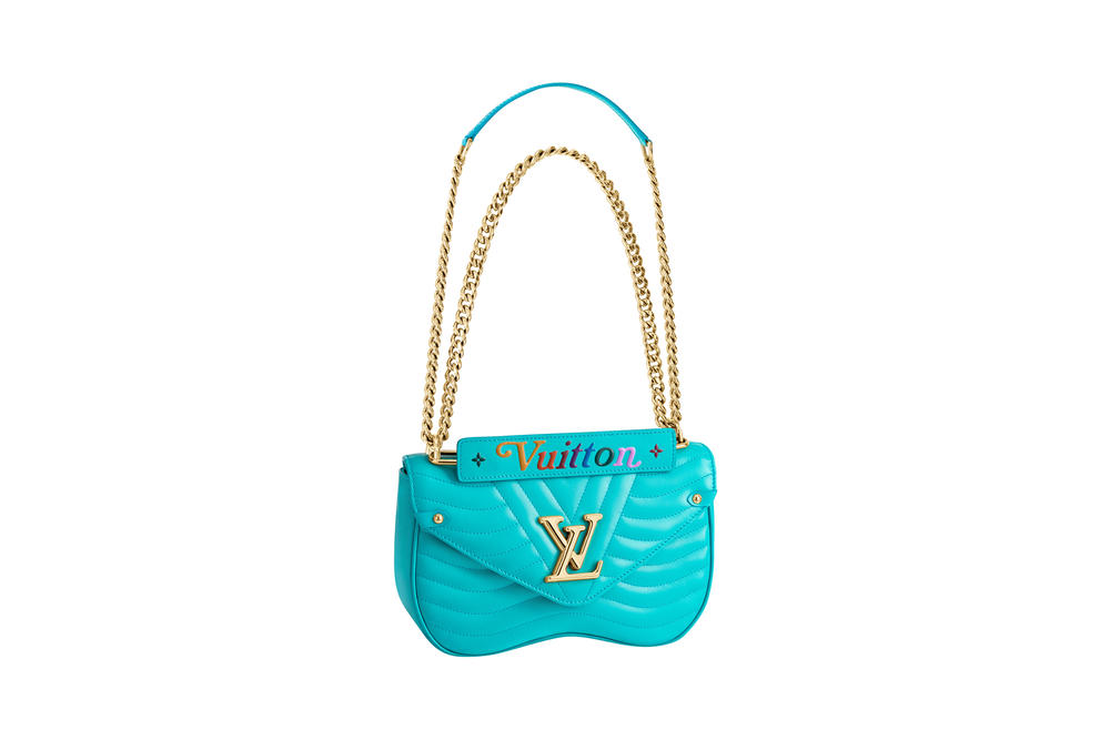 Louis Vuitton New Wave Chain Malibu Green Bag Collection