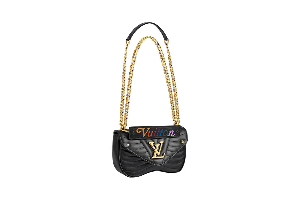 Louis Vuitton New Wave Chain Bag Noir Black Collection