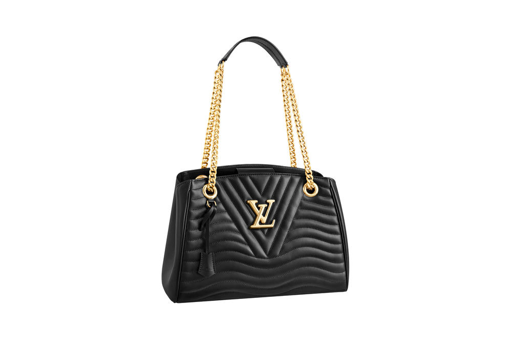 Louis Vuitton New Wave Chain Tote Noir Black Collection