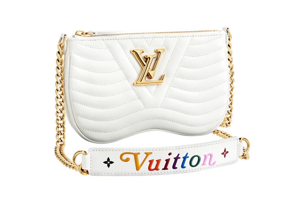 Louis Vuitton New Wave Chain Bag Snow White Collection
