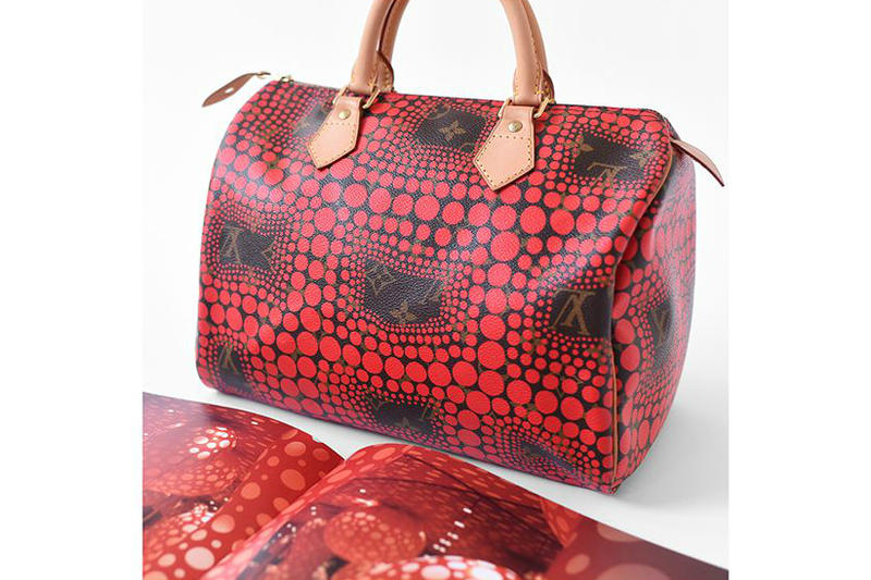 Louis Vuitton x Yayoi Kusama Speedy 30 Red Phaidon Book