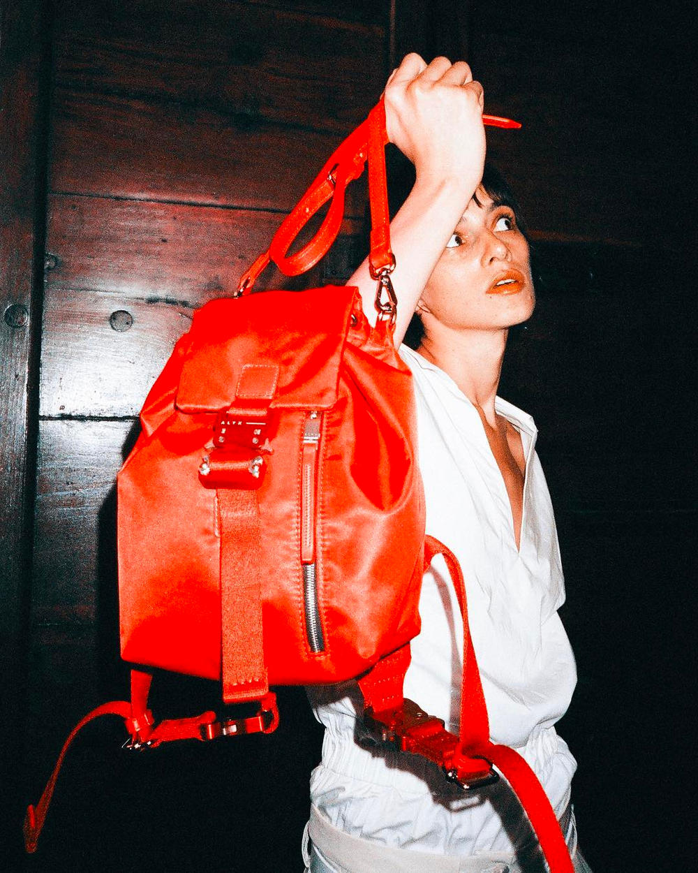 alyx baby x mini backpack red lookbook