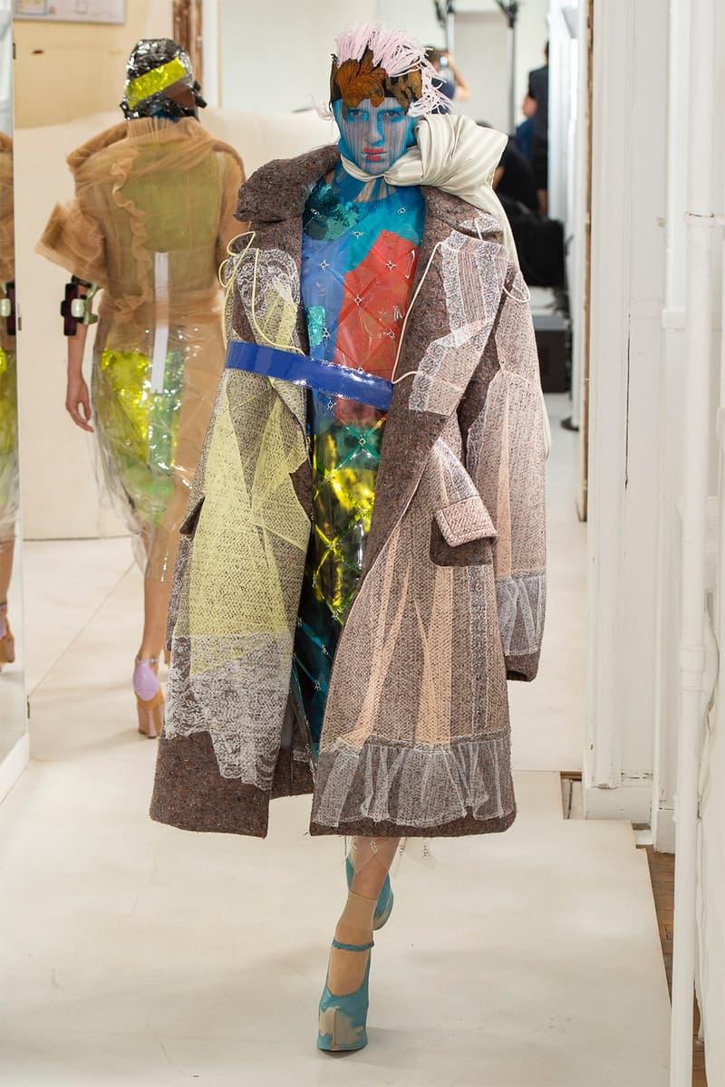 maison margiela john galliano fall 2018 paris couture show