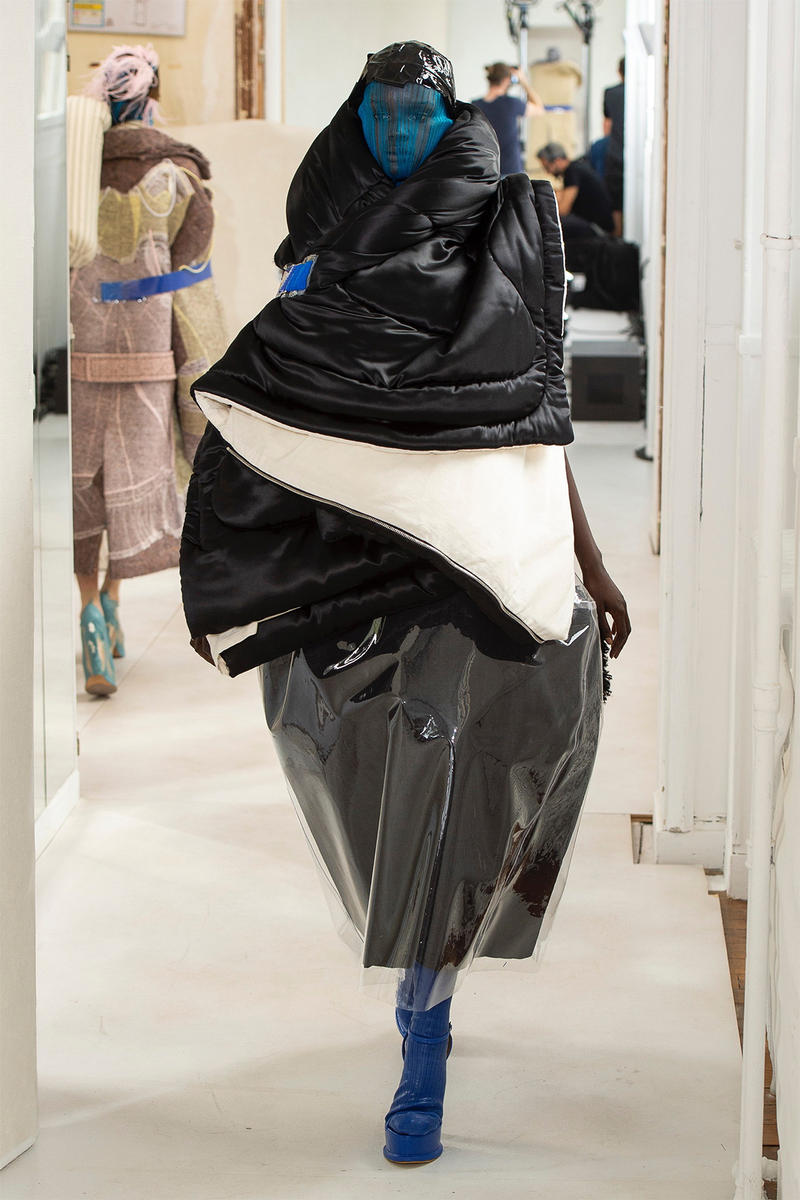 maison margiela john galliano fall 2018 paris couture show