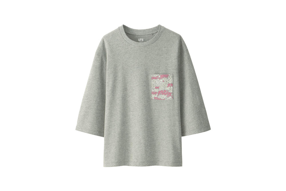 Love & Mickey Mouse Uniqlo UT T-Shirt Collection Grey