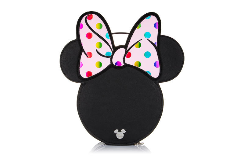 Minnie Mouse Spectrum Collections Makeup Brush Pink Pouch