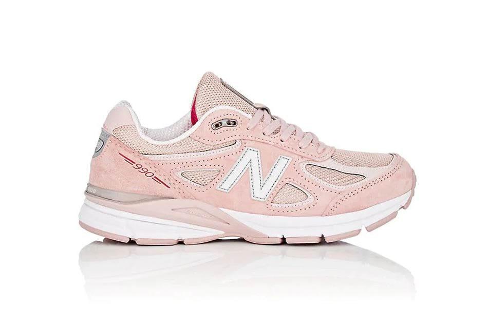 pink new balance 990v4