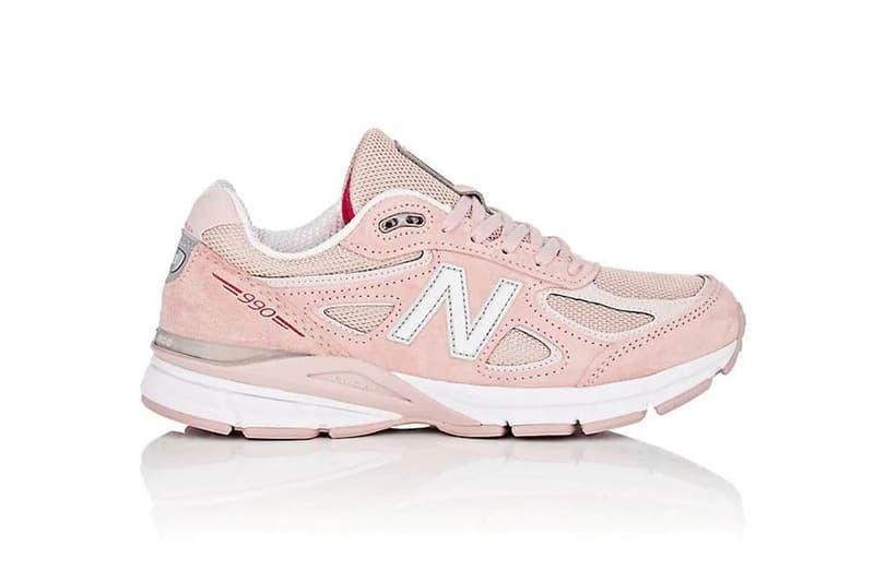 New Balance 990v4 Pink Suede