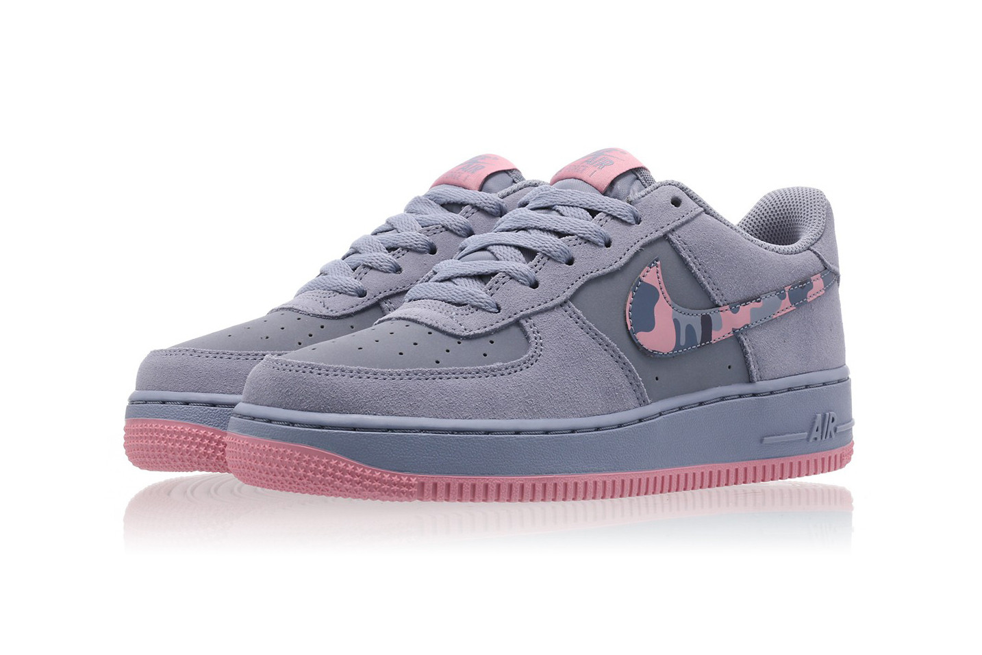 Nike Air Force 1 With Pink \u0026 Purple