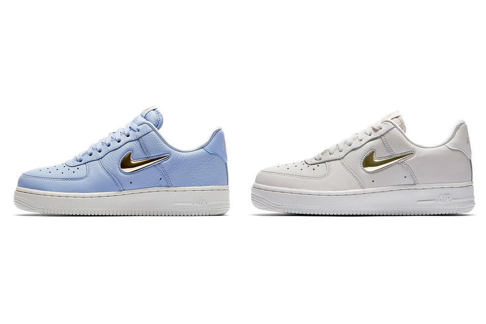 sneakers for cheap d19f8 87439 Nike Air Force 1 Jewel Pack Phantom Royal Tint Metallic Gold Star