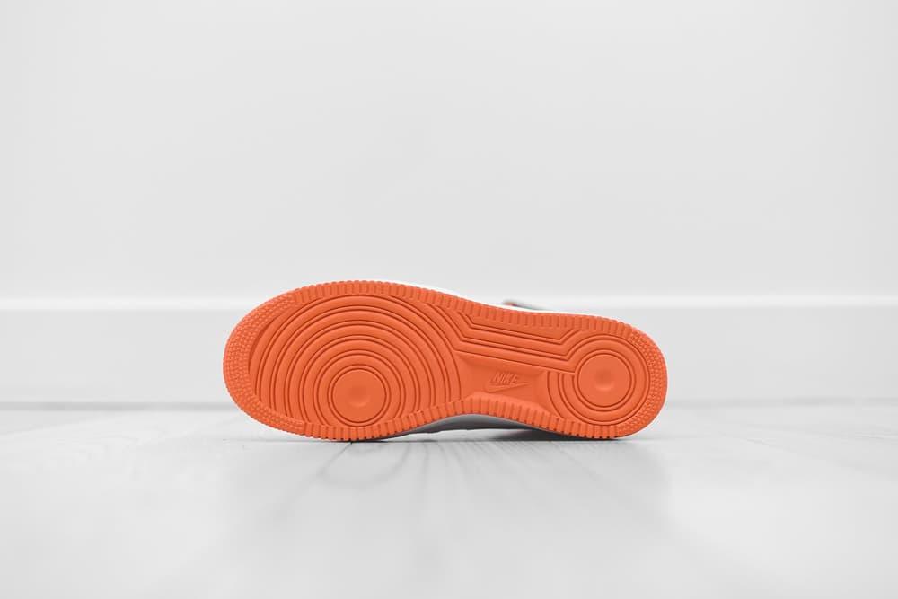 nike air force 1 mid terra orange kith leather strap
