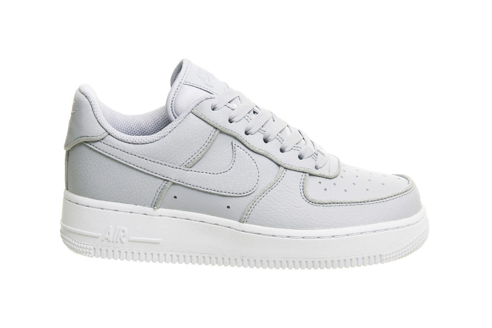 ffa84ceee00 Nike Air Force 1 Wolf Grey With Silver Glitter | HYPEBAE