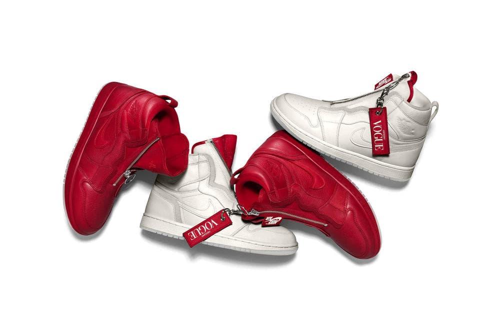 Vogue AWOK Anna Wintour Air Jordan 1 Sneakers Reebok Victoria Beckham Shaquille O'Neal Kylie Cosmetics Kris Jenner Momager Heron Preston NASA collaboration
