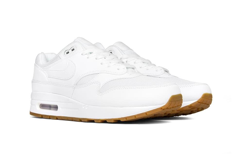 Nike Releases Air Max 1 in White Gum  dbdcec267