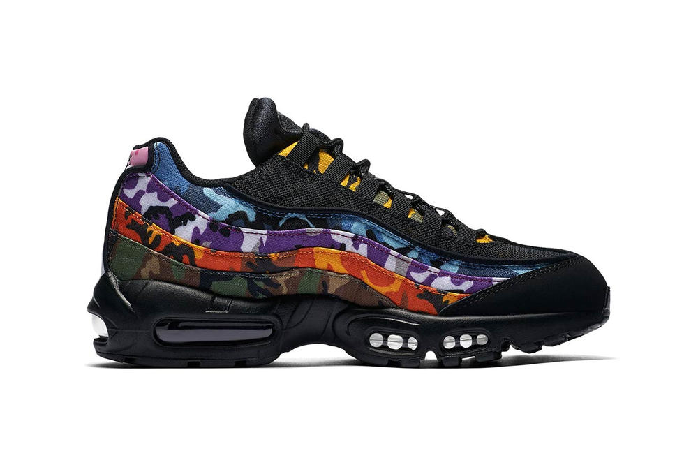 13a88b98cd Nike's Air Max 95 Multi Color Camo Release Date | HYPEBAE