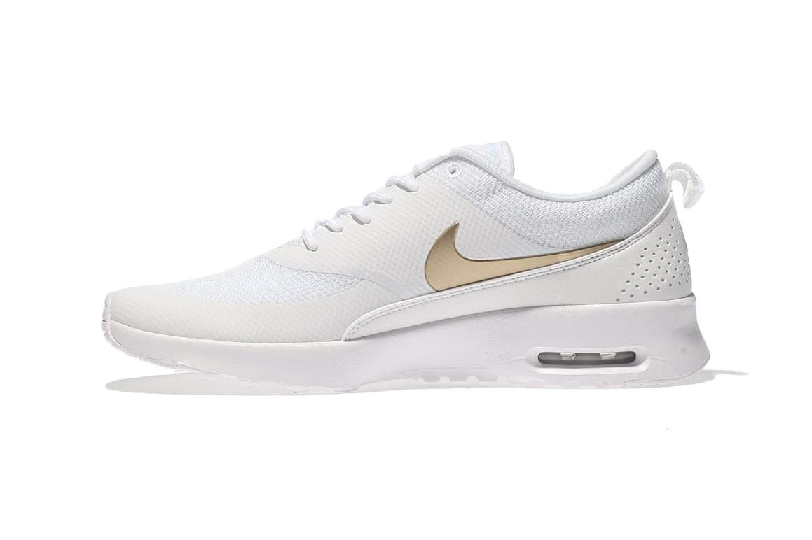 Nike Air Max Thea White / Metallic Gold
