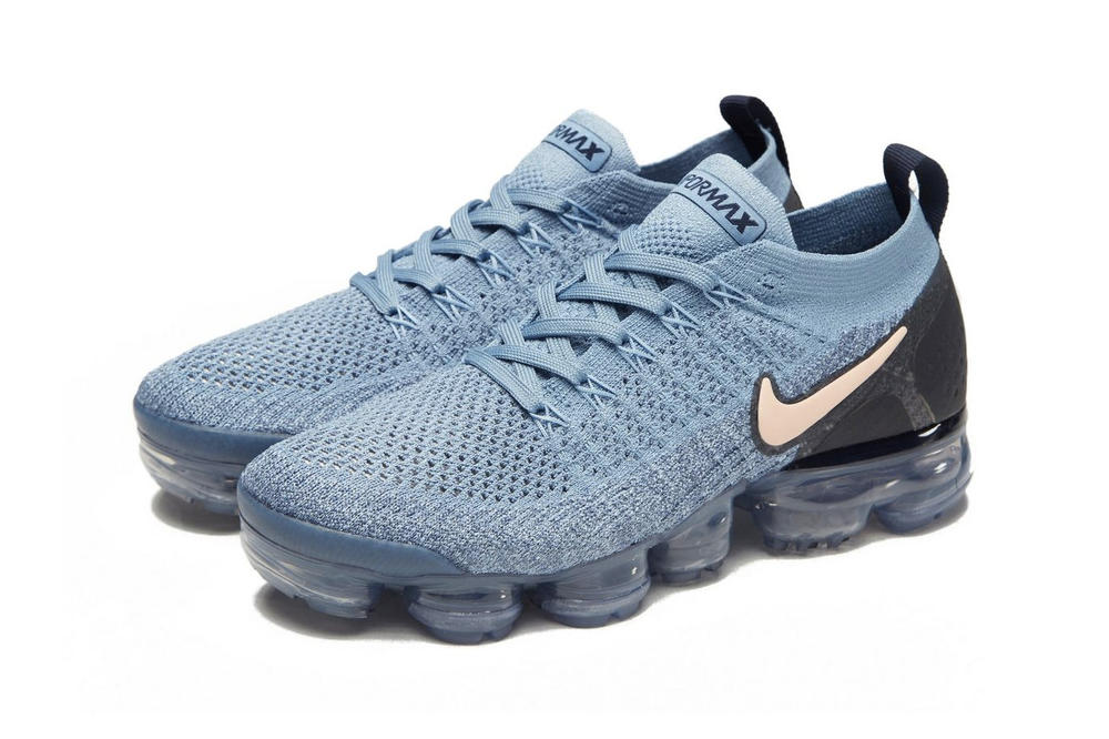 Nike Drops Air VaporMax Flyknit 2.0 in Baby Blue Light Blue Women's Sneaker