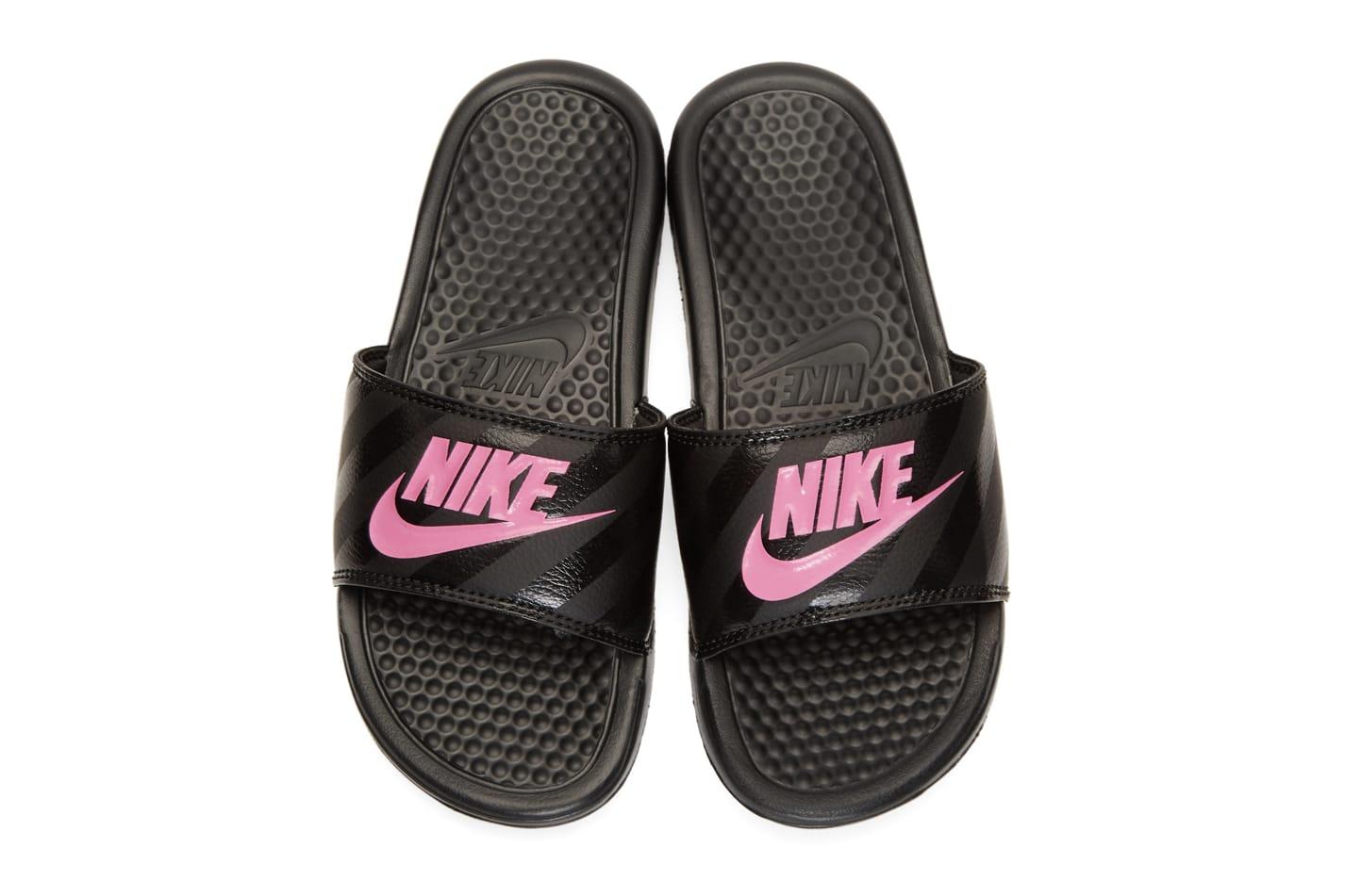 Nike Drops Benassi Slides in Black