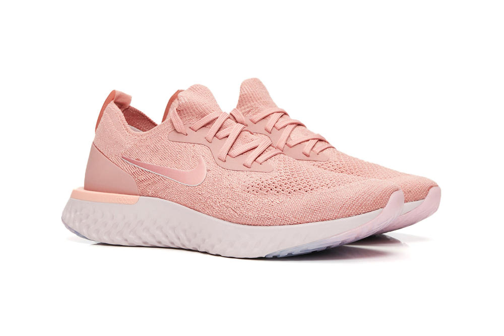 Nike Epic React Flyknit Rust Pink Rose Gold Copper Women's Sneaker