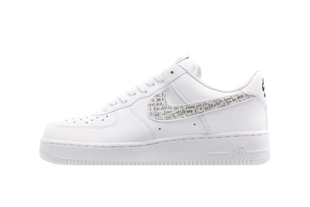 Nike Just Do It Pack Air Force 1 Low White