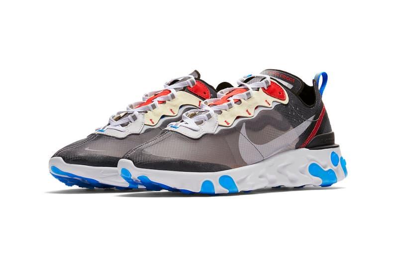 Nike Element React 87 Dark Grey Sneaker