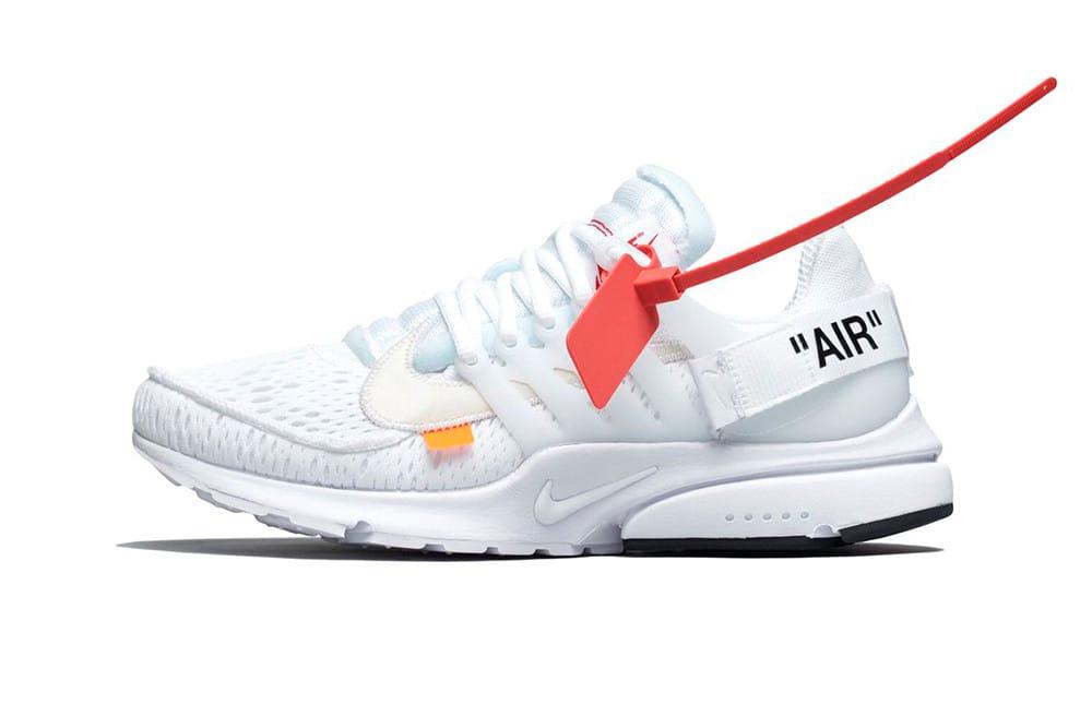 Off-White x Nike Air Presto White Store