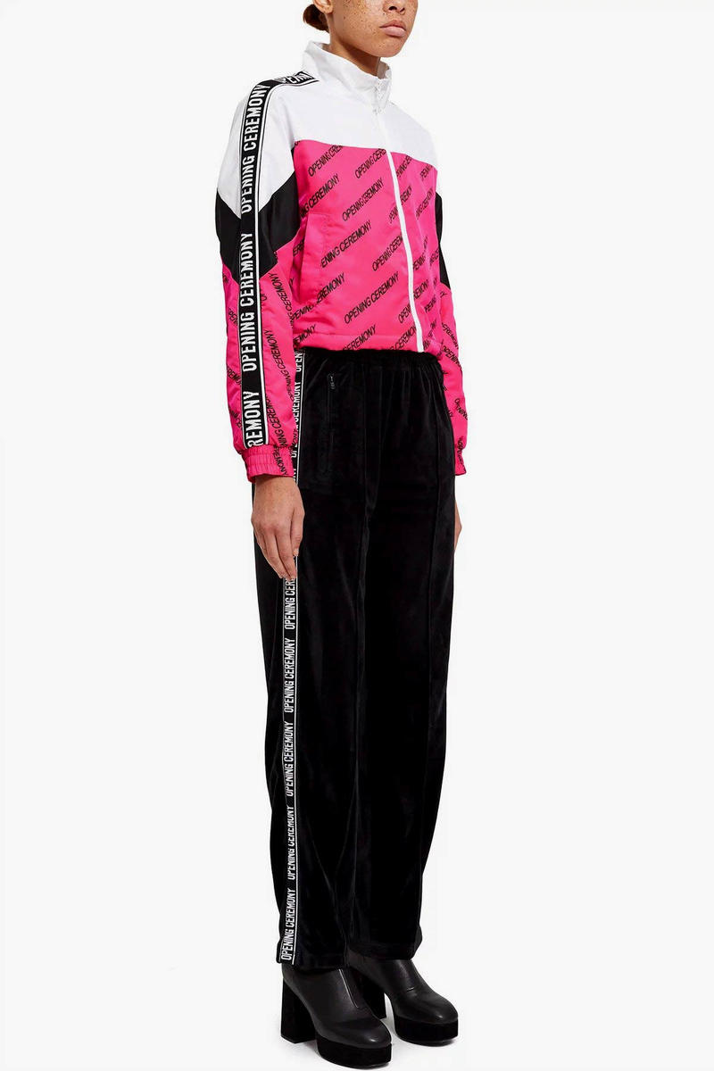 Opening Ceremony TORCH Pink Black Tracksuit