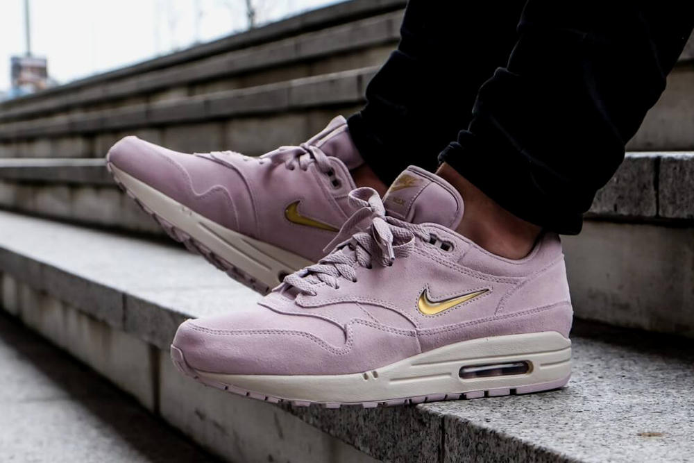 save off 89553 bcdb8 Nike Air Max 1 Premium SC Particle Rose Metallic Gold Overkill Summer Sale