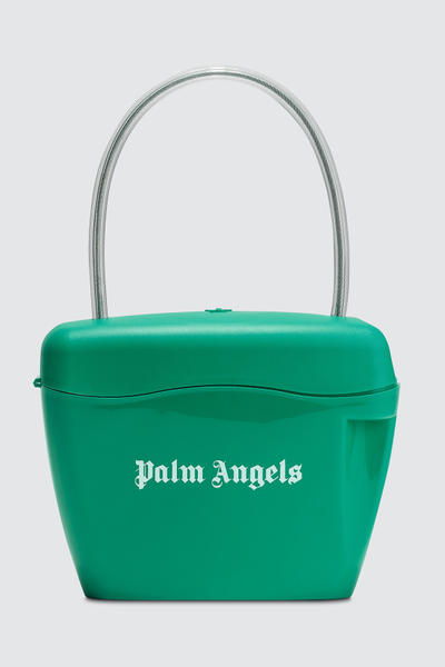 Palm Angels Plastic Padlock Bag Red Black White Yellow Blue Green Orange Handbag
