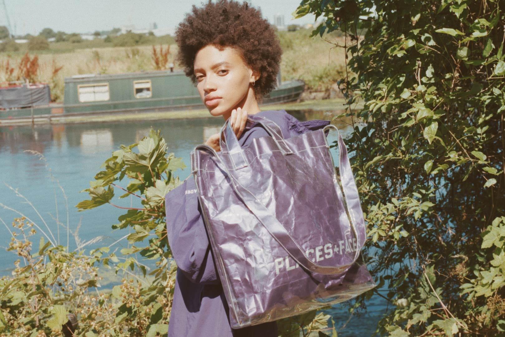 Faces transparent bag 1 Places