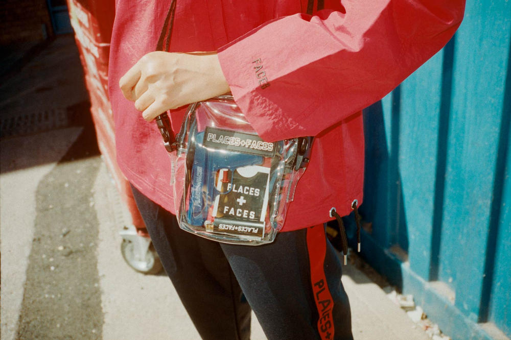 Places Faces Clear Bags Totes Lookbook