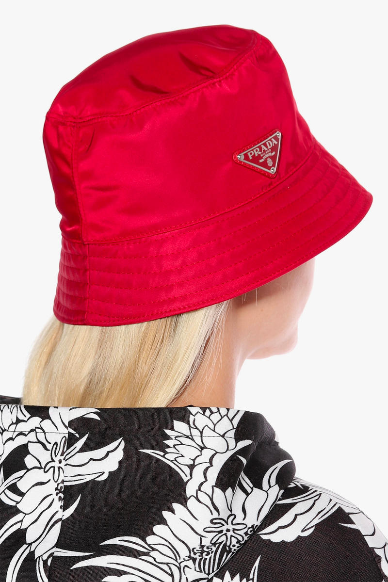 59ca14a3eda Prada Has Released an Exclusive Bucket Hat for the Summer – Here s Where to  Buy It