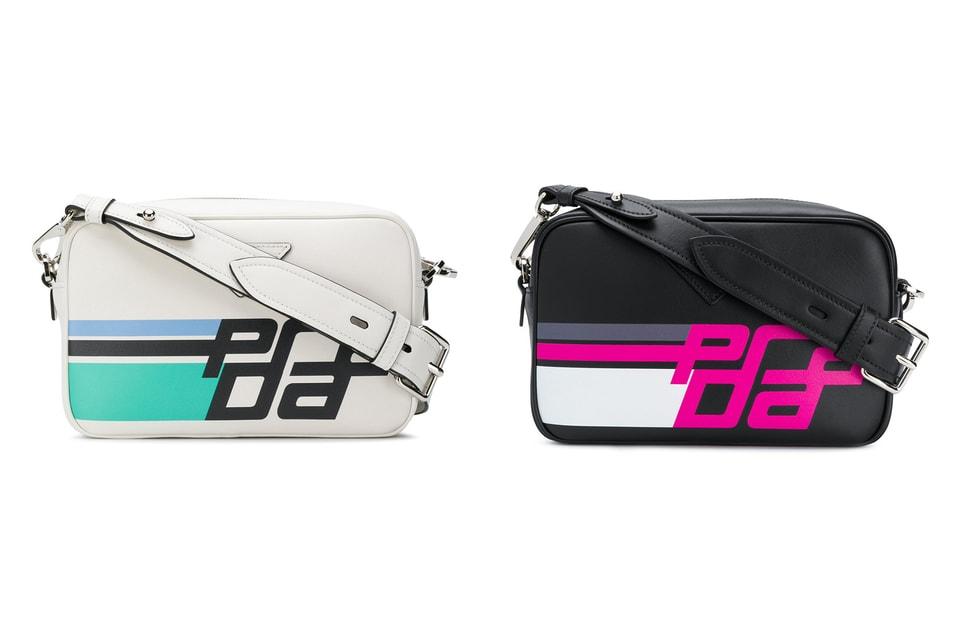 ae732ef506f3 Prada Releases Retro Logo Print Crossbody Bags