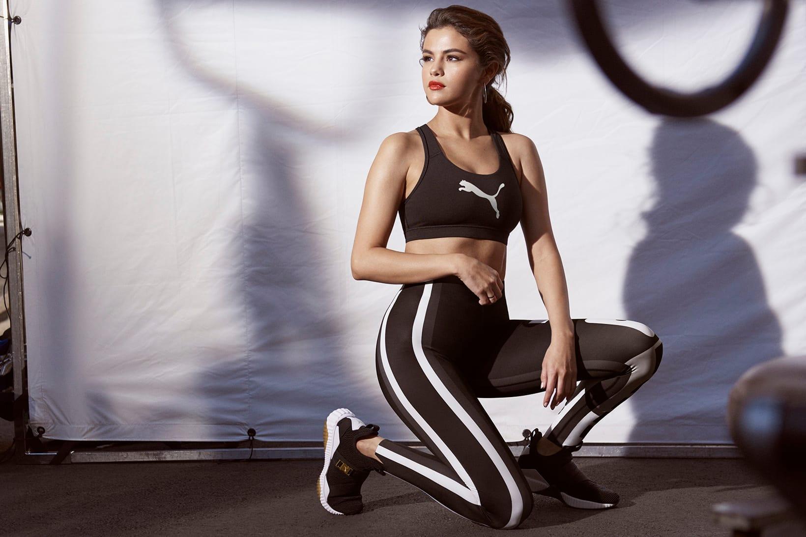 Selena Gomez Models PUMA's New DEFY Mid
