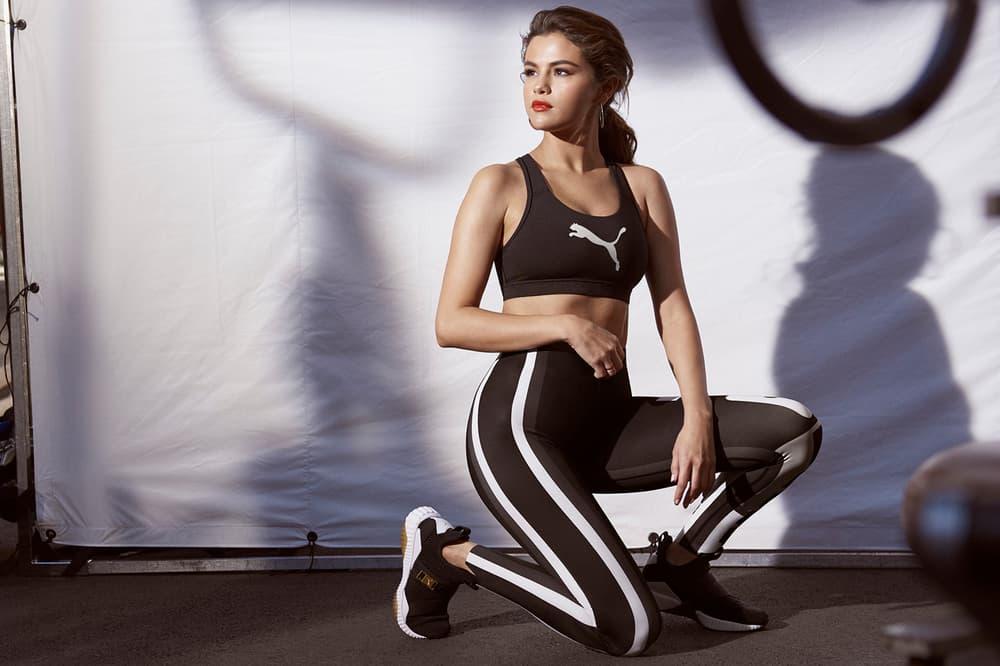 PUMA New DEFY Mid Selena Gomez Campaign Black White Chunky Sneaker