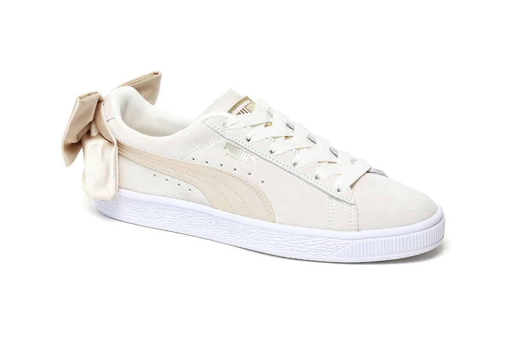 PUMA Suede Bow Varsity Marshmallow Women's Sneakers